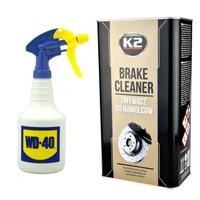 Zestaw: Zmywacz do hamulców K2 Brake Cleaner op 5L+opryskiwacz 550ml