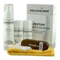 Colourlock zestaw do czyszczenia skóry Soft + mleczko pielęgnujące 150ml