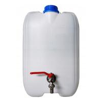 Pojemnik plastikowy na wodę z metalowym kranem 20L