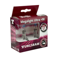 Żarówka samochodowa H1 Tungsram MegaLight Ultra Plus 90% - 2szt