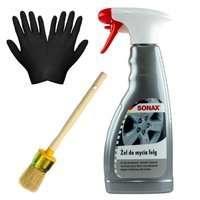 Zestaw: Sonax żel do mycia felg 500ml+pędzelek