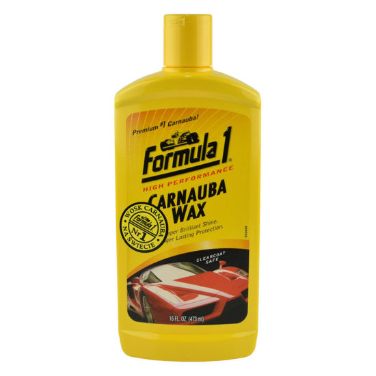 Formula 1 Carnauba Car Wax wosk - mleczko woskowe 473ml