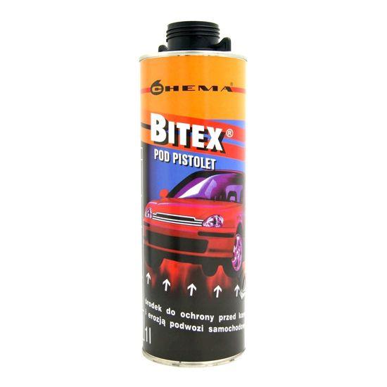 BITEX preparat antykorozyjny do konserwacji podwozia 1L pod pistolet