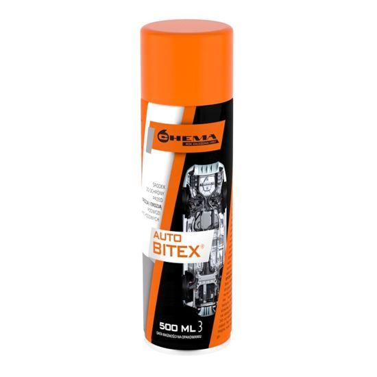 BITEX preparat antykorozyjny do konserwacji podwozia spray 500ml