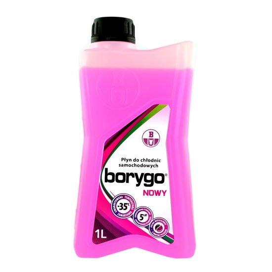 Borygo różowe - gotowy płyn do chłodnic 1L
