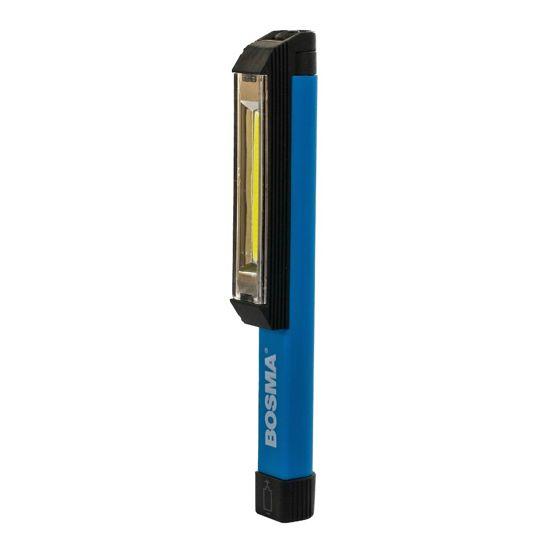 Bosma lampka inspekcyjna z magnesem 1 LED COB 3x AAA