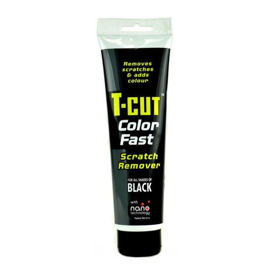 CarPlan T-CUT Color Fast - Nano pasta koloryzująca do usuwania rys Czarna 150g