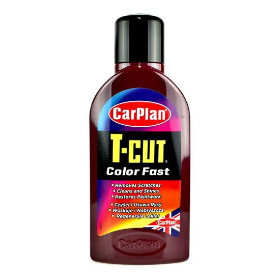 CarPlan T-CUT Color Fast wosk koloryzujący Bordowy 500ml