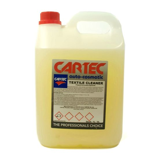 Cartec Textile Cleaner płyn do prania tapicerek - koncentrat 5L