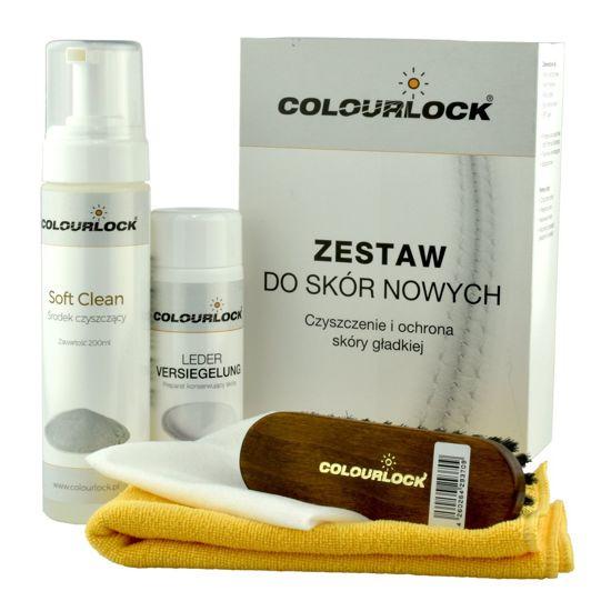 Colourlock zestaw do czyszczenia skóry Soft