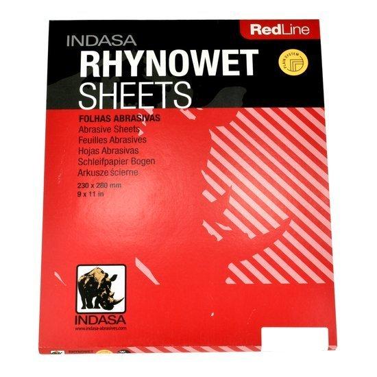 Indasa Red Line - wodny papier ścierny P600