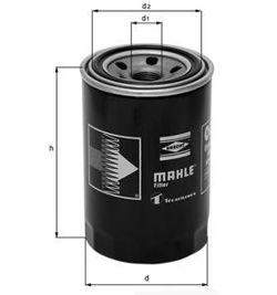 Knecht filtr oleju OC1063 - Mazda 6, Alfa-Romeo 1.9 JTD, 85/103KW 01-