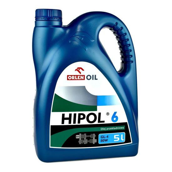 Olej przekładniowy Orlen Hipol 6 GL-4 80W 5L