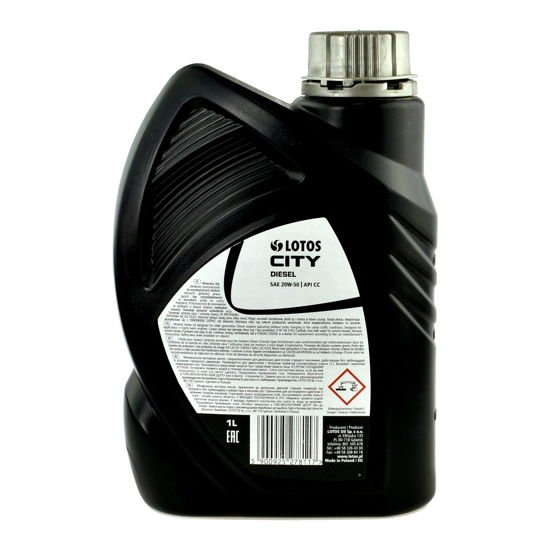 Olej silnikowy Lotos City Diesel 20W/50 1L