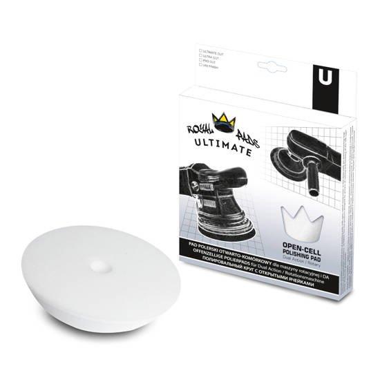 Royal Pads U-Thin Ultimate Cut twardy pad polerski - biały 130mm
