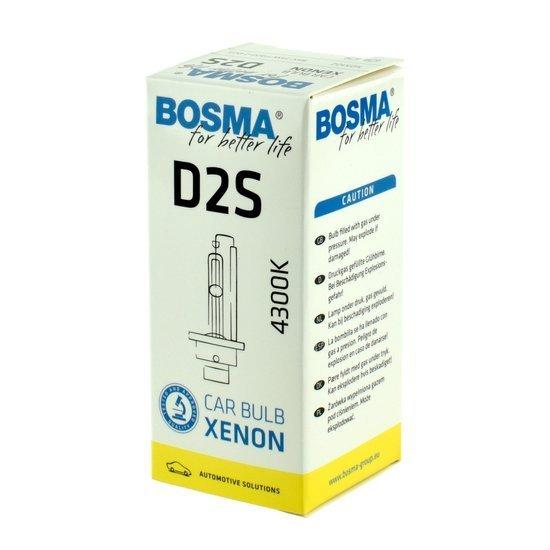 Żarówka samochodowa Bosma xenon żarnik D2S 85V/35W 4300K
