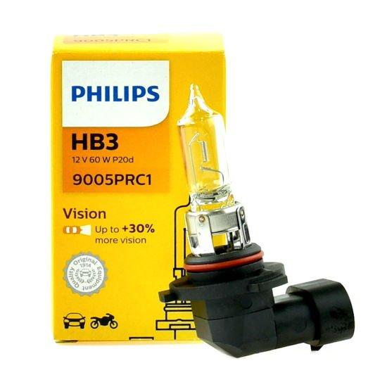 Żarówka samochodowa HB3 65W Philips Vision +30% - 1szt